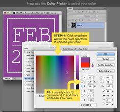 How to recolor digital elements in Photoshop #digiscrap