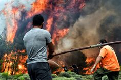 Greece mourns as death toll rises from 'apocalyptic' wildfires - AwesomeGreece - Top Greek Islands and Beaches Places To Travel, Death, Concert, Greek Islands, Beaches, Amazing, World, Athens, Greece