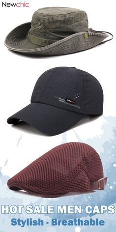 4984a7995cb  From US 7.54  Hot Sale Summer Breathable Adjustable Outdoor Caps Hats.   men  outdoor  menswear