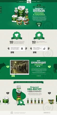 Green Color #Webdesign