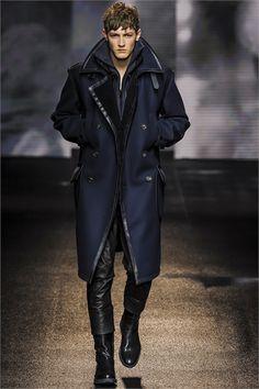 Salvatore Ferragamo... runway cloudy salvatoreferragamo snowy vogue men designer style fw