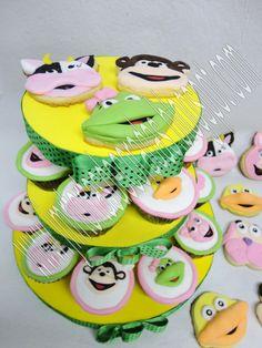 Torta y cupcakes Descubriendo con Bubba | JMR Tortas Decoradas
