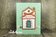 APPT Nov 6 Stampin Up Paper Pumpkin, Creative Crafts, Nov 6, November, Textured Background, I Card, Gingerbread, Christmas Cards, Paper Crafts