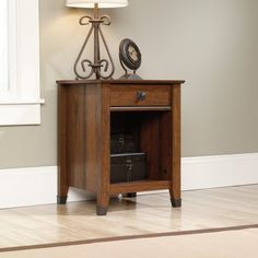 Drawers with metal runners and safety #stops feature patented T-lock assembly system. Open shelf provides additional storage. Wrought iron style hardware and acc...