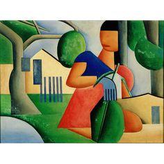 Início do Cubismo 1923 - Tarsila do Amaral