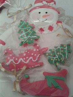 Yılbaşı kurabiyeler Siparişler teslime hazır