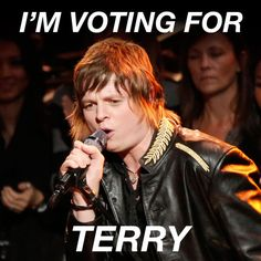 Vote for Terry McDermott! #TeamBlake  Facebook: https://apps.facebook.com/nbc-the-voice/   Phone: 855 VOICE 04 / 855 864 2304