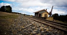 Railway station at Bungendore, NSW, Australia