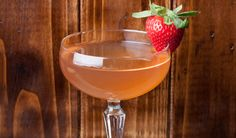 The Dead Rabbit: Sweet strawberries, balsamic vinegar and delicious whiskey.