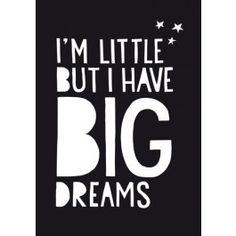 Paperfuel poster Big Dreams 50 x 70 cm | PSikhouvanjou