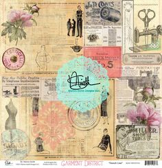Introducing Garment District Junque & Gems By: Marion Smith Scrapbooking, Vintage