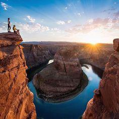 Horseshoe bend, Arizona. Photo by: @travisburkephotography Explore. Share. Inspire: #earthfocus #L4L #mothernature #earthporn #followback