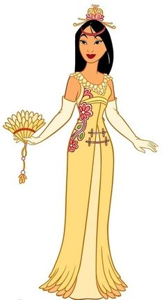 Photo of Mulan for fans of Disney Leading Ladies 7682065 Disney Princess Fashion, Disney Princess Art, Princess Style, Disney Fan Art, Disney Style, Disney Love, Disney Pixar, Walt Disney, Disney Characters