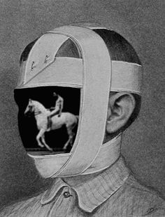 GIF: Bill Domonkos, 2016 Image from page 73 of The operating room and the patient; a manual of pre- and post-operative treatment (1913). Horse in motion by Eadweard Muybridge.