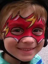 Face Painting Flash Gordon in Safety Harbo, FL