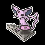 DJ-lution: Eevee by PeekingBoo on DeviantArt Pokemon Pins, Pokemon Comics, Pokemon Memes, Cute Pokemon, Pokemon Eeveelutions, Eevee Evolutions, I Love You Animation, Game Concept Art, Manga