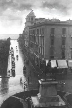 Rainy day in Alexandria 1936