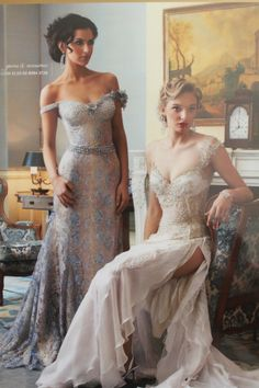 Lora Eliss Moda vintage style bridesmaids