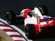 Ayrton Senna su McLaren - Ford 1993