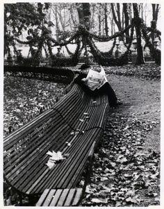 André Kertész, In the Luxembourg Garden, Paris, 1928