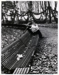 André Kertész, In the Luxembourg Garden, Paris, 1928
