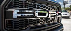 2017 Ford Raptor - Ford Grille Letters | Polished or Brushed