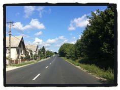 On the road, Fejér County, Hungary