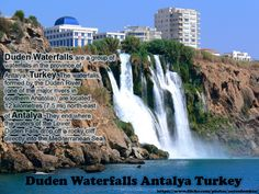 Duden Waterfalls  #DudenWaterfalls are a group of waterfalls in the province of #Antalya, #Turkey. The waterfalls, formed by the #Duden #River, are located 12 kilometres (7.5 mi) north-east of #Antalya. More Details  http://en.wikipedia.org/wiki/Duden_Waterfalls  Discover great #holiday #deals to Antalya with #TourCenter, with a #fantastic range of holiday offers http://www.tourcenter.co.uk/europe/turkey/antalya — at Duden Waterfalls, Antalya, Turkey.