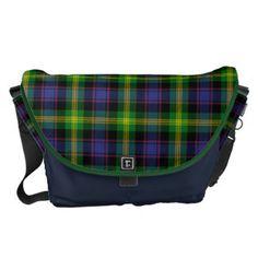 Clan Watson Tartan Messenger Bag