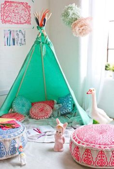 AphroChic: 6 Unique Kids Teepees For Summer Fun