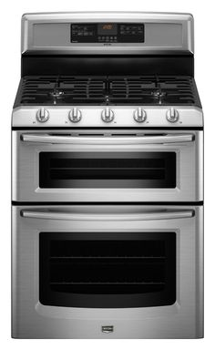6.0 cu. ft. Capacity Double Oven Gas Range with Speed Heat™ Burner (MGT8775XS Stainless Steel) |