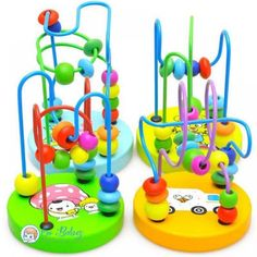 2017 Kids Baby Wooden Toys Colorful Around Beads Learning Education Baby Montessori Toys Kids Wood Toy For Children Random - Kid Shop Global - Kids & Baby Shop Online - baby & kids clothing, toys for baby & kid Toddler Gifts, Toddler Toys, Gifts For Kids, Infant Toddler, Infant Room, Educational Toys For Kids, Learning Toys, Early Learning, Baby Skin