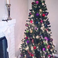 You can never have too many Christmas trees!! Basement tree is now complete! #christmas #tree #christmastree