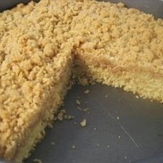 Old-Fashioned Crumb Coffee Cake | Organic Recipe Book