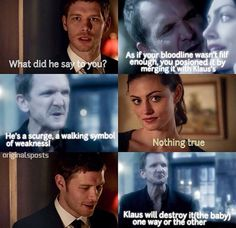 Hayley knows that Klaus can be a good guy too...
