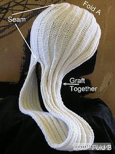 Ravelry: Esprit Chemo Turban pattern by Ann Cannon-Brown Crochet Beanie, Knitted Hats, Knit Crochet, Crochet Hats, Loom Knitting, Knitting Patterns, Crochet Patterns, Bead Sewing, Beanie Hats