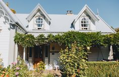 This beautiful little slice of heaven can be found seaside in Akaroa, just a little bit outside of Christchurch. The historic house makes visitors feel right at home with a relaxing and gorgeously decorated property and garden.