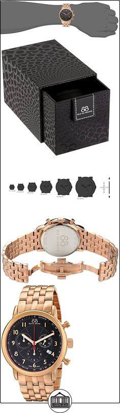 88 Rue Du Rhone Double 8 Origin Mens Rose Gold PVD Chronograph Watch 87WA120049  ✿ Relojes para hombre - (Lujo) ✿