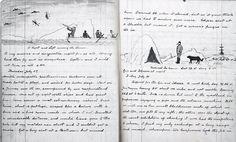 Arthur Conan Doyle's sea-voyage notebook