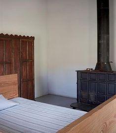 DONALD JUDD'S Home, Bedroom. The Judd Foundation.