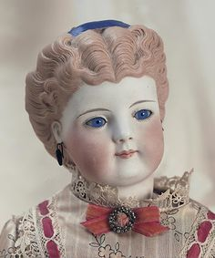 German Bisque Fashion Lady by Simon and Halbig Comments: Simon and Halbig,circa 1875