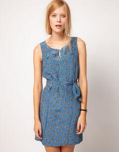 NW3 | NW3 Mr Fox Print Dress at ASOS