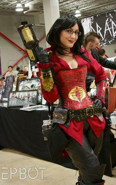 G.I. Joe: The Baroness. View more cosplay at http://www.pinterest.com/SuburbanFandom/cosplay-diary/