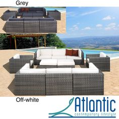 @Overstock - Throw the backyard party that you have always dreamed about with this 10-piece Milano outdoor synthetic wicker sectional set featuring durable aluminum in the construction, as well. Arrange the individual gray and off-white pieces to fit any setting.http://www.overstock.com/Home-Garden/Milano-Grey-Off-White-10-piece-Sectional/6782830/product.html?CID=214117 $3,722.99