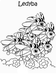 Disegni da colorare per bambini. Colorare e stampa Pokemon 42