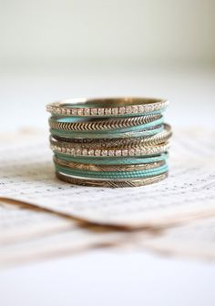 Makes me wish I would actually wear bracelets...