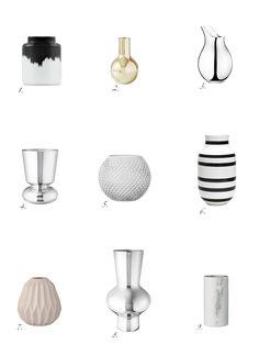 My favorite vases: http://www.idealista.fi/charandthecity/2017/03/09/suosikki-maljakot/