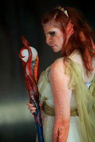 Chrix Design: Sea Goddess - Commander of Kraken Prosthetic Makeup, Sfx Makeup, Cool Costumes, Halloween Costumes, Costume Ideas, Alien Costumes, Halloween 2015, Halloween Outfits, Cosplay Ideas