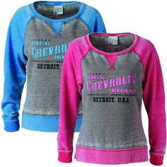 Chevy Ladies Sweatshirt | Chevrolet Womens Apparel - ChevyMall