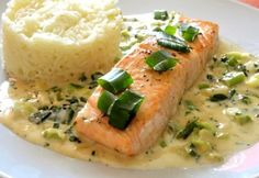 Seafood Dishes, Fish And Seafood, Fish Recipes, My Recipes, Crossfit Diet, Good Food, Yummy Food, Gluten Free Recipes, Healthy Life